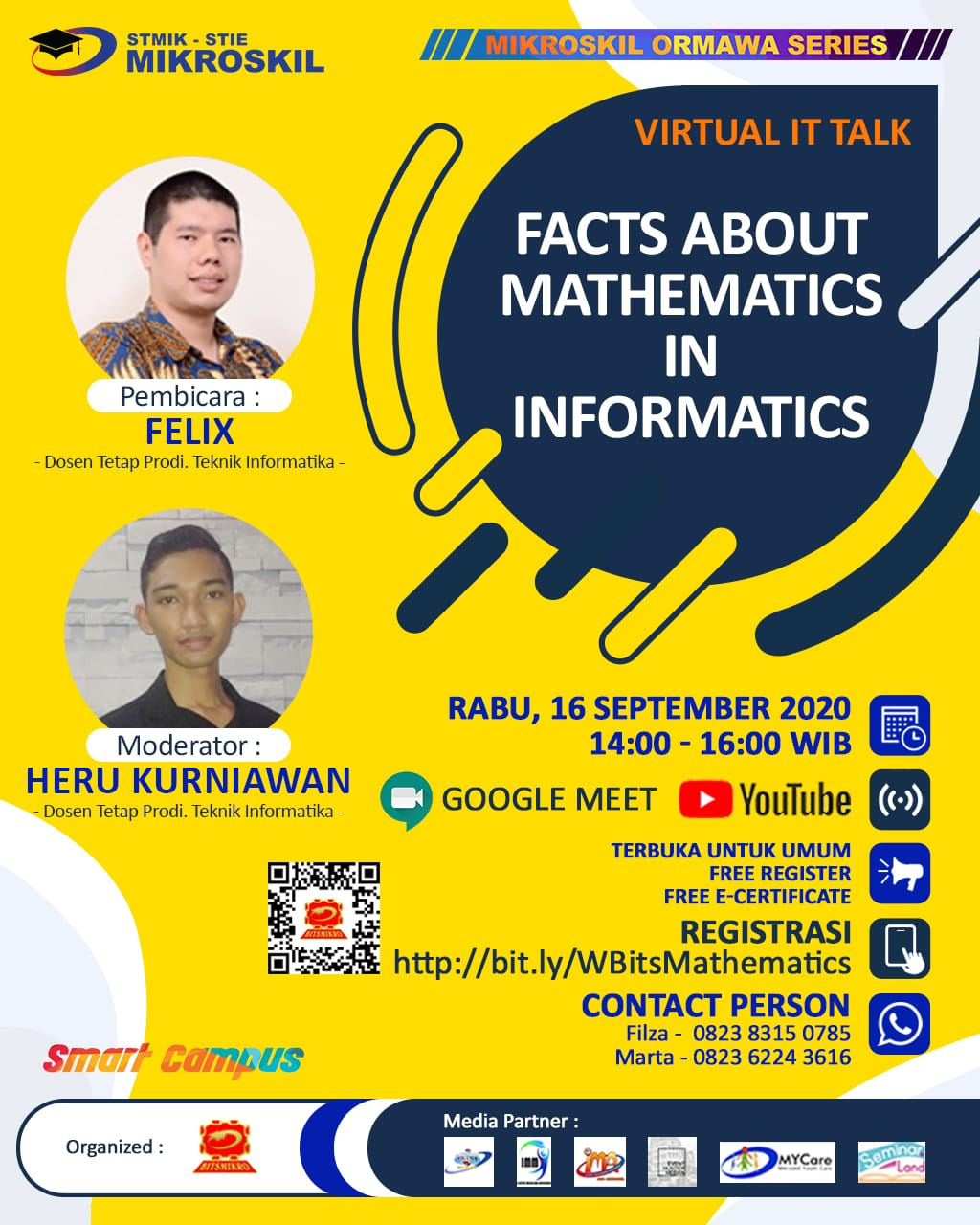 Poster: Facts About Mathematics in Informatics
