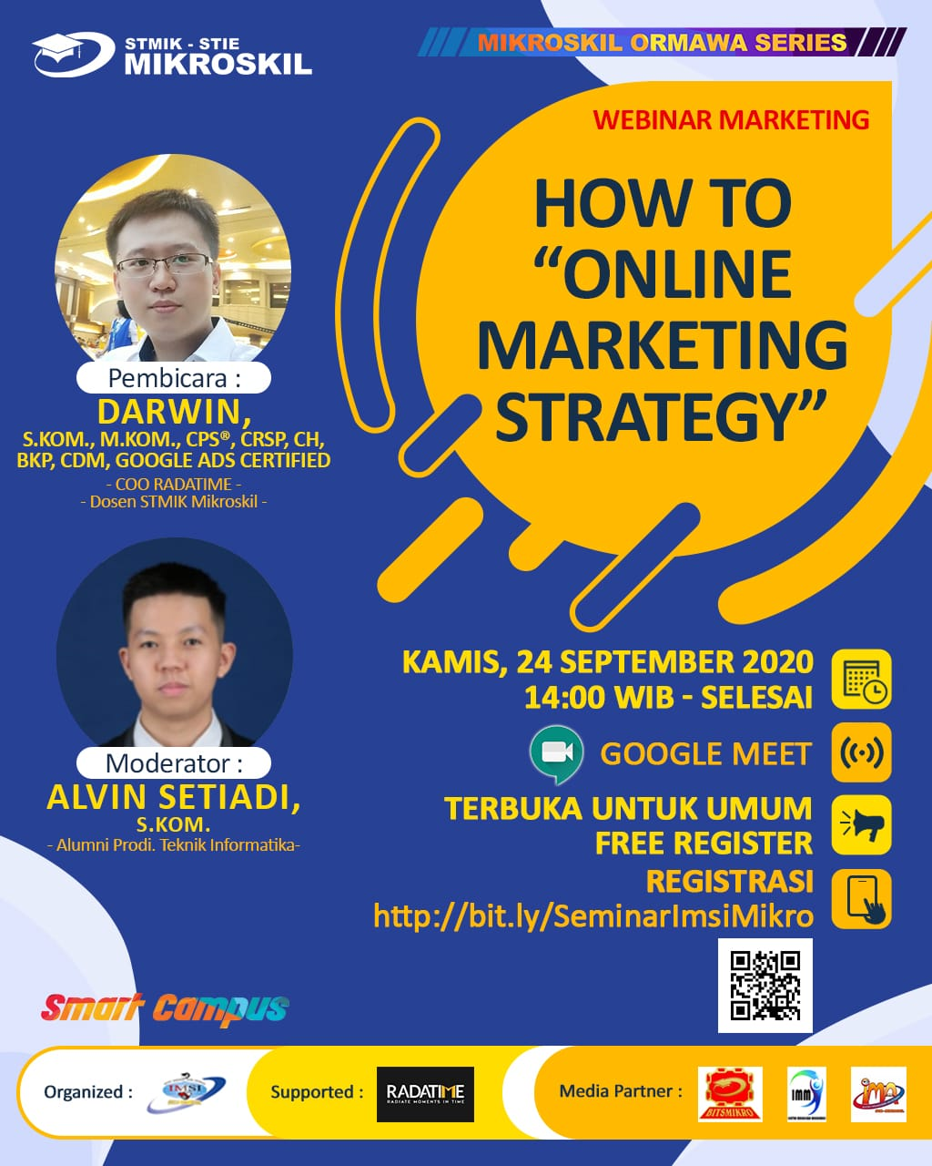 "Poster: How to ""Online Marketing Strategy"""