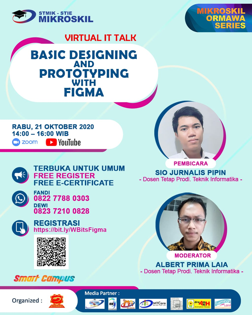 Poster: Basic Designing and Prototyping with Figma