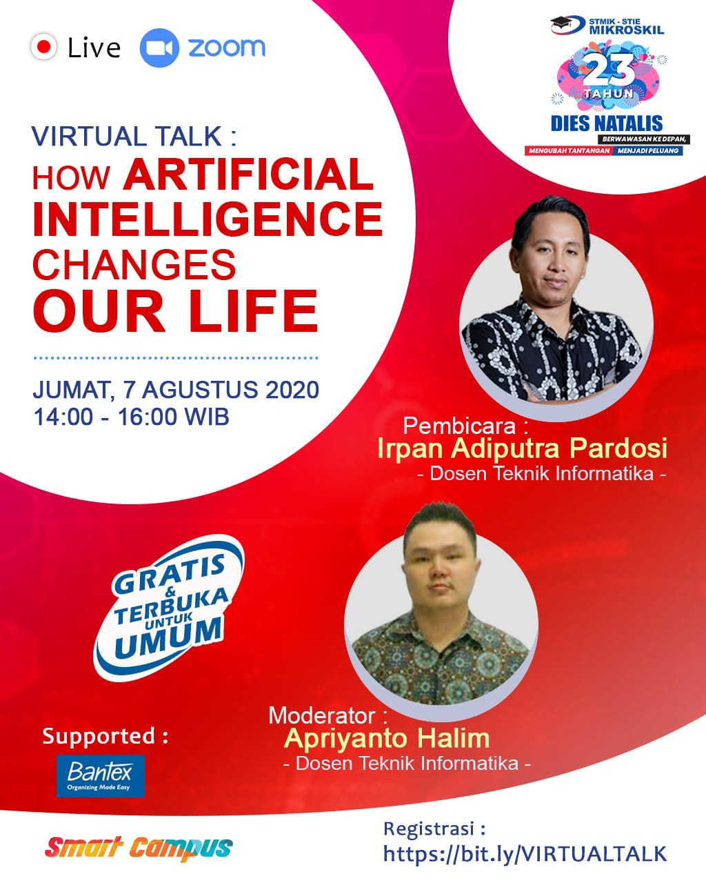 Poster: How Artificial Intelligence Changes Our Life
