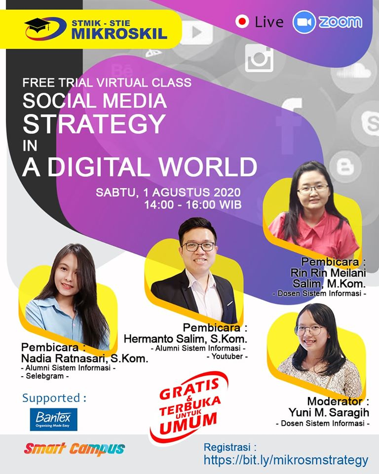 Poster: SOCIAL MEDIA STRATEGY IN A DIGITAL WORLD