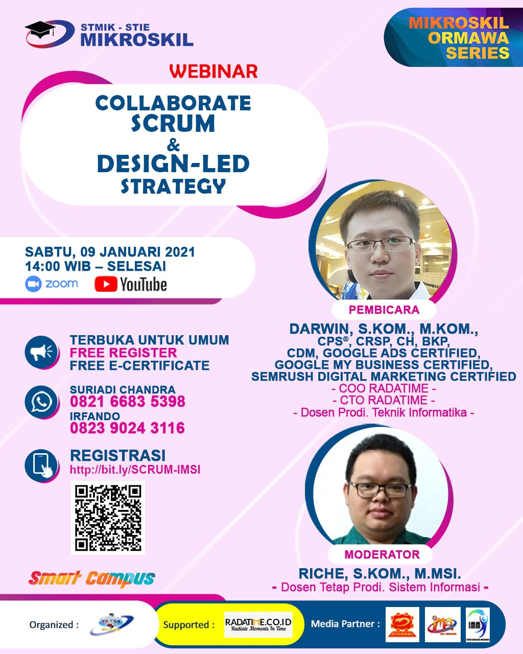 Poster: Collaborate SCRUM & Design-Led Strategy