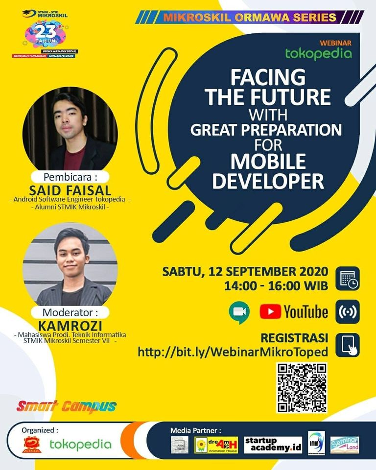 Poster: Facing the Future with Great Preparation for Mobile Developer