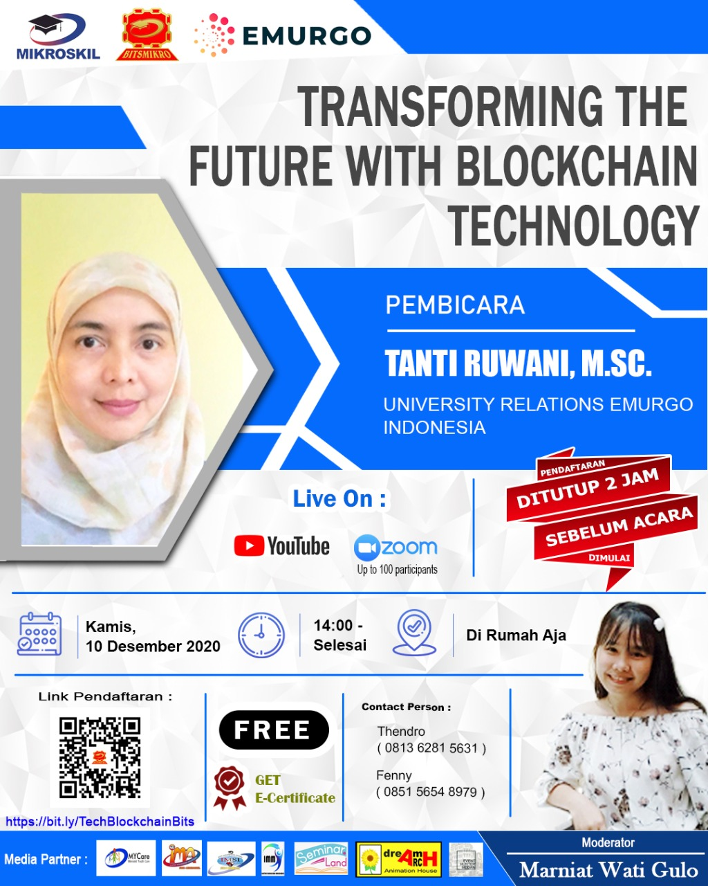 Poster: TRANSFORMING THE FUTURE WITH BLOCKCHAIN TECHNOLOGY