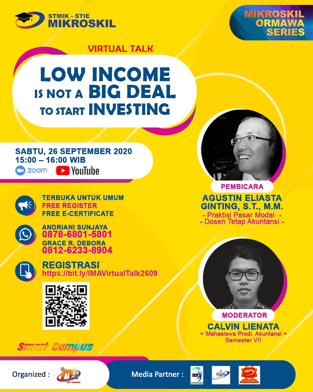 Poster: Low Income is not a Big Deal to Start Investing