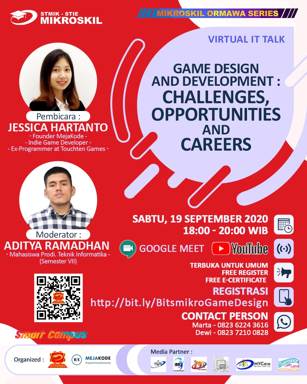 Poster: Game Design and Development: Challenges, Opportunities, and Careers