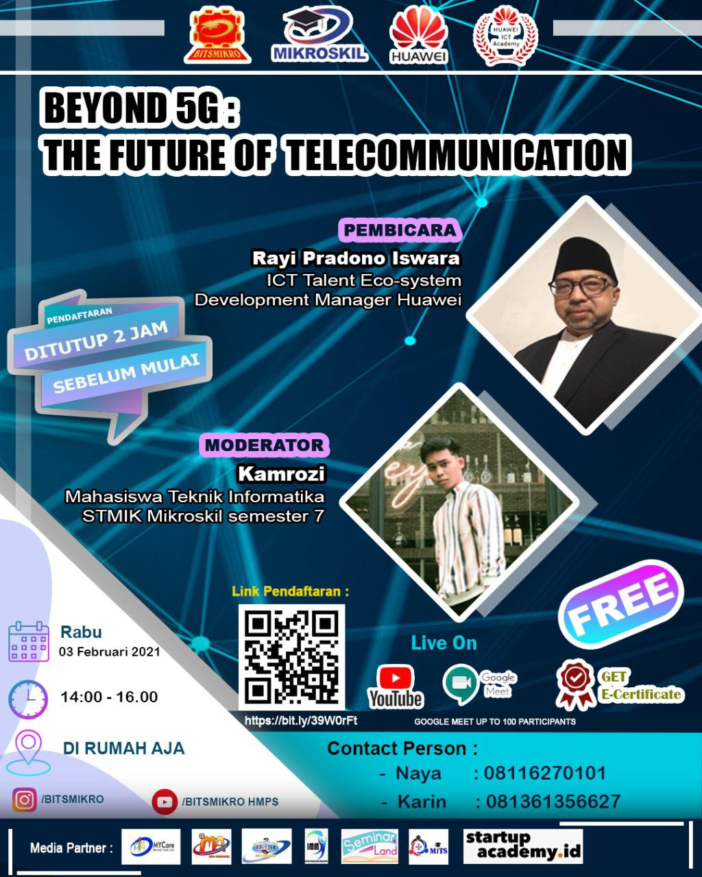 Poster: Beyond 5G: The Future of Telecommunication