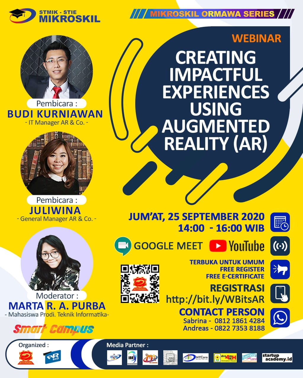 Poster: Creating Impactful Experiences Using Augmented Reality (AR)