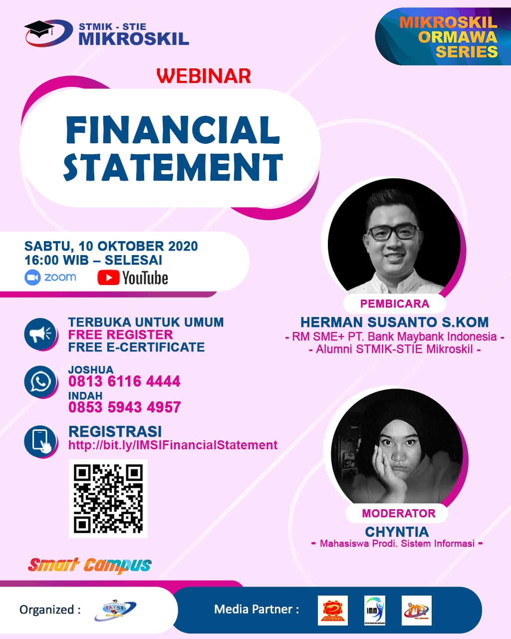 Poster: Financial Statement