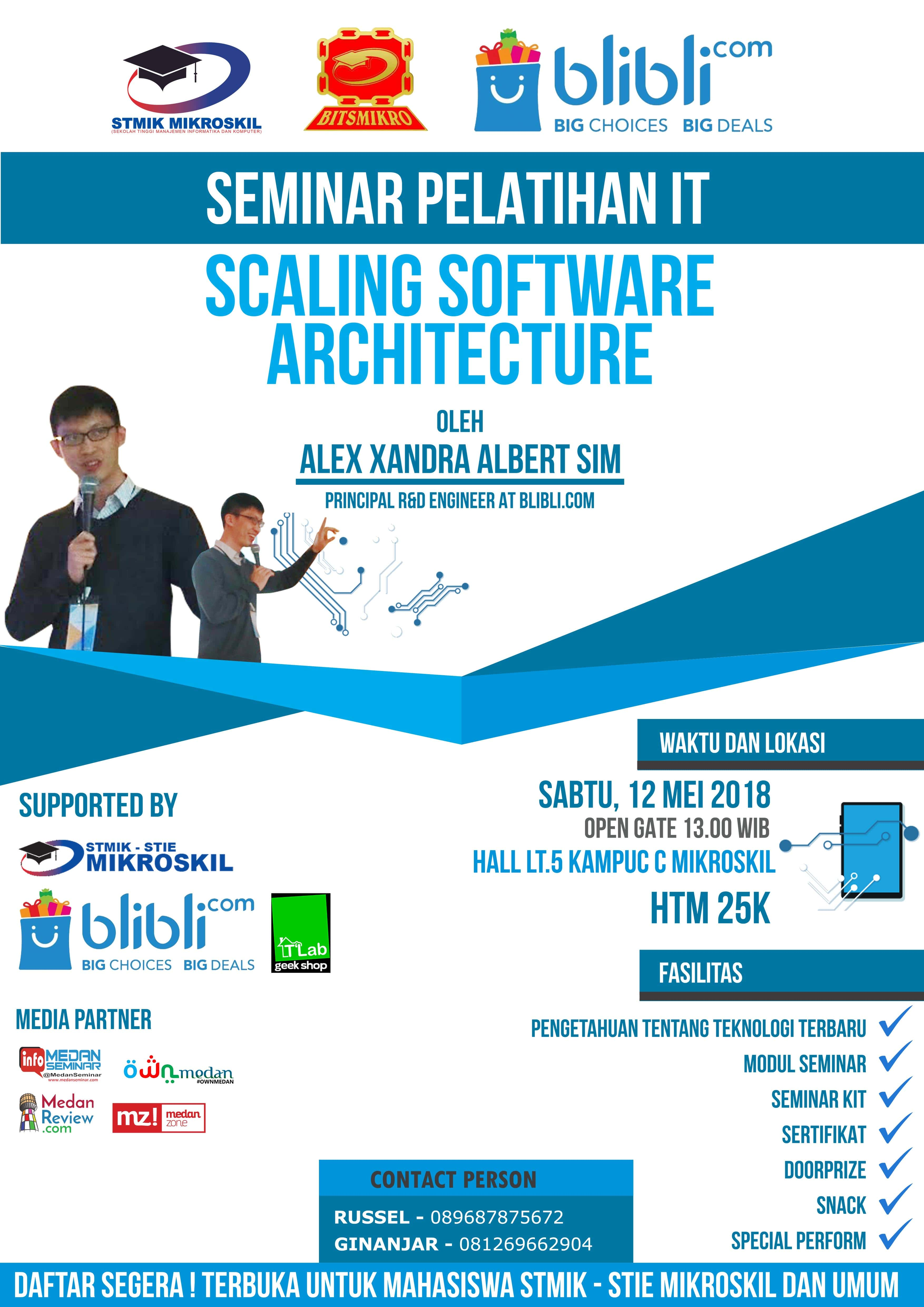 Seminar Pelatihan IT : Scaling Software Architecture